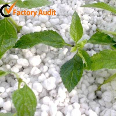 Expanded perlite for horticulture