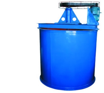 Flotation with flotation mixing barrel