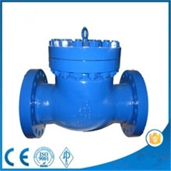 HOT water supply 10 inch cast steel bolted cover Swing check valve