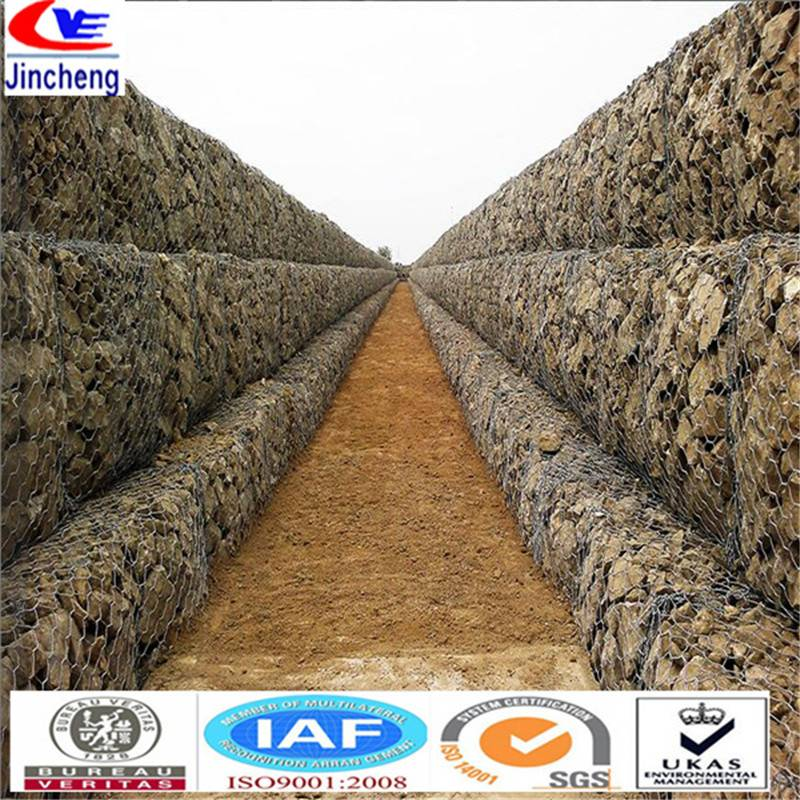 Gabion stone for protecting soil and water