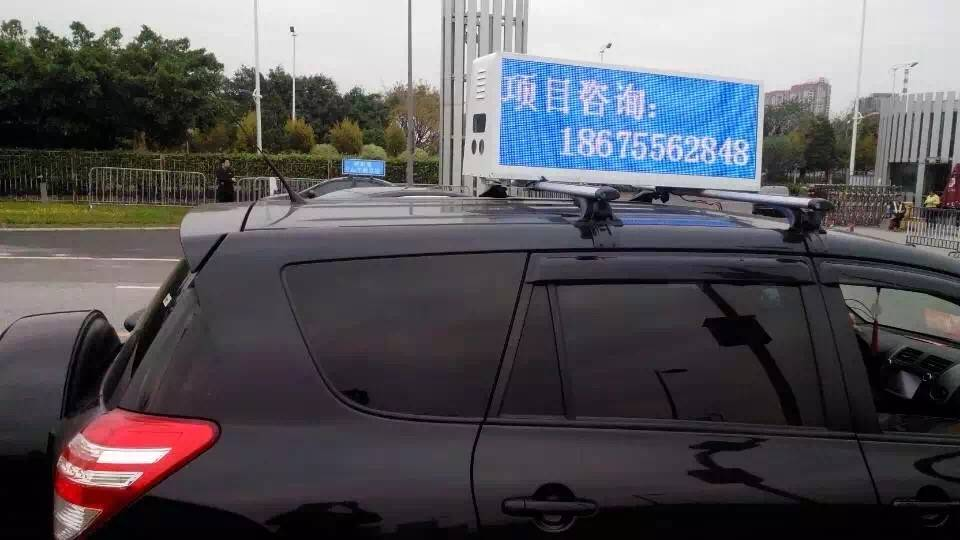 3G taxi led display advertising signs