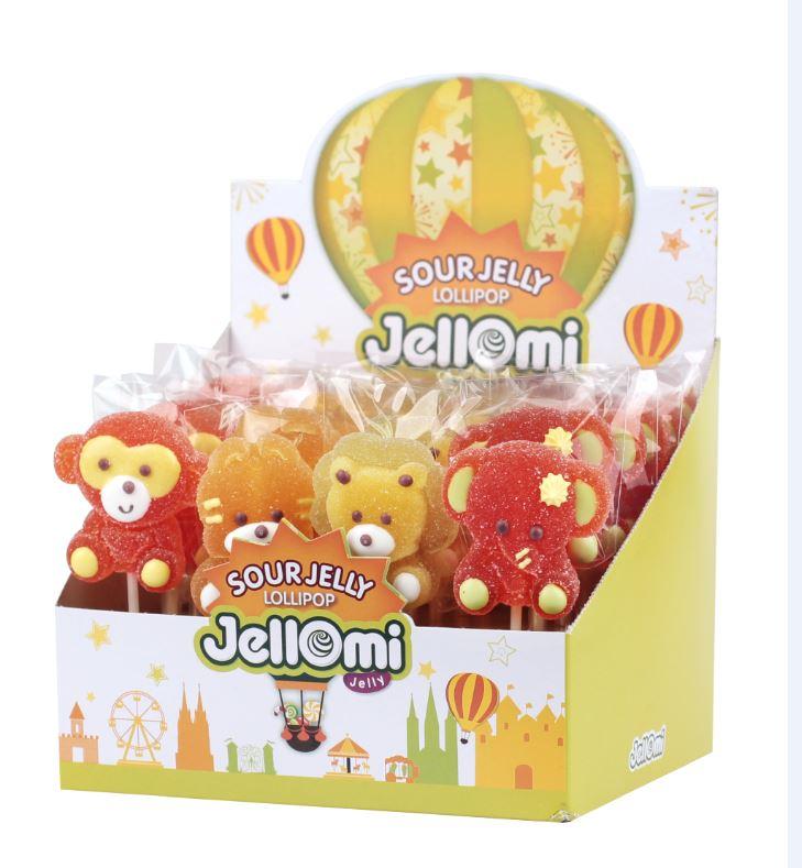 Jellomi Sour Jelly Lollipop