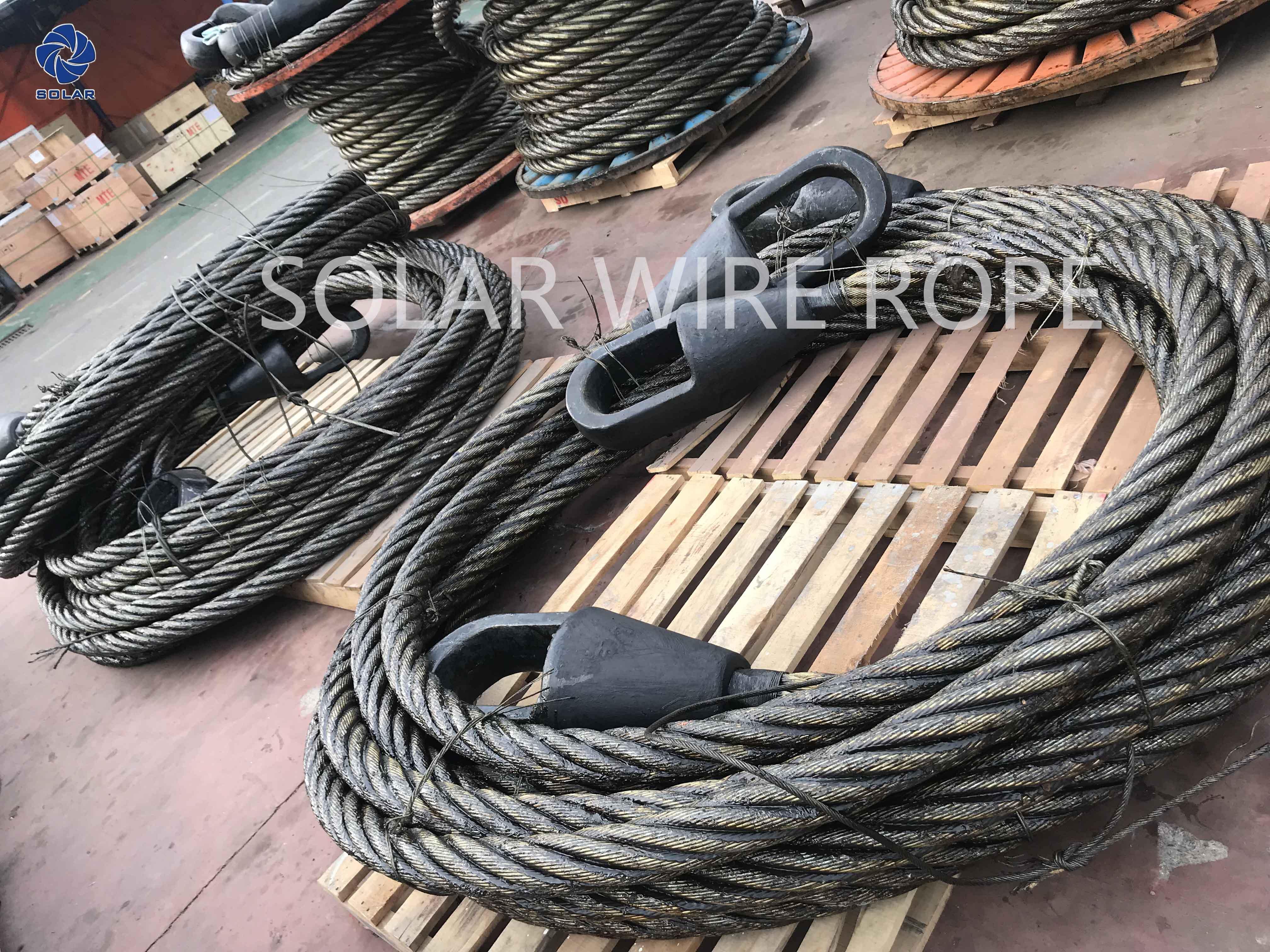 Large Diameter Steel Wire Rope Sling