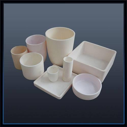 Alumina ceramic crucible