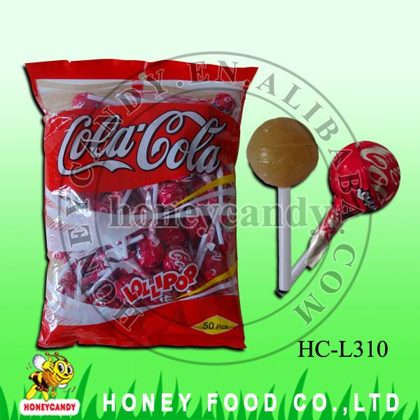 10g Cola Lollipop