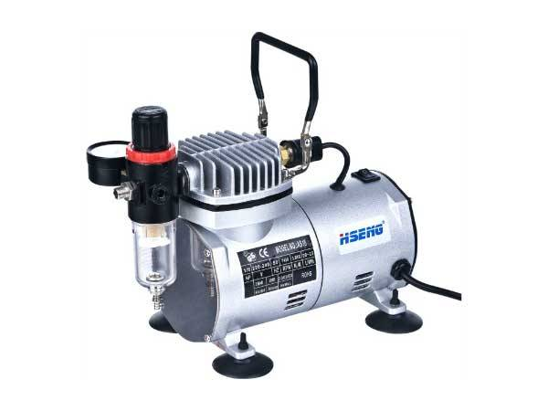 HaoSheng AS18-2 Airbrush Compressor for hair