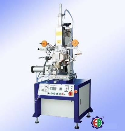 H-200M Hot Stamping Machine w/ Profile Modeling & Rubber Roller