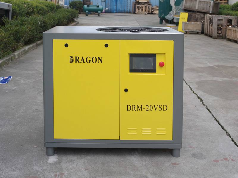 permanent magnet screw air compressor(direct driven)