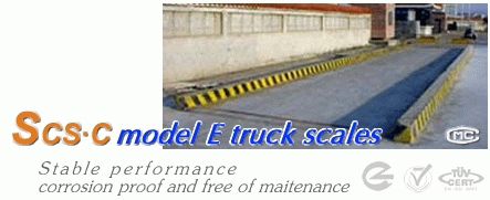 Electronic truck scale