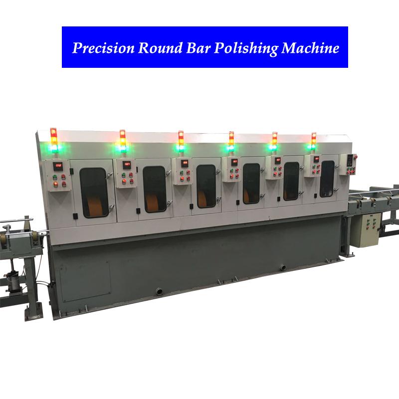 China round tube polishing machine stainless steel pipe polishing machine