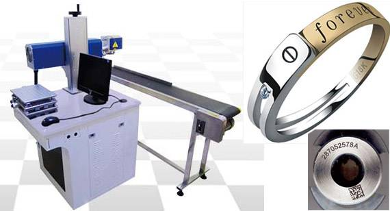 IDJET Fiber Laser Flying Marking Machine