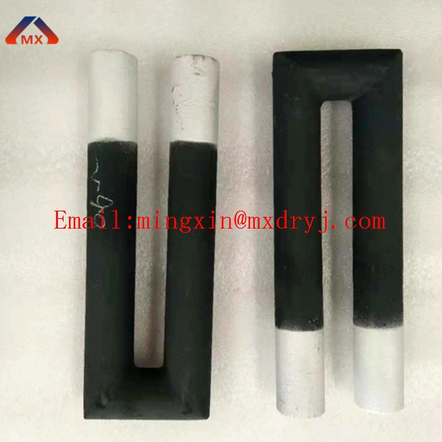 Heating element in Sic temperature up to 1600 degree used in kiln