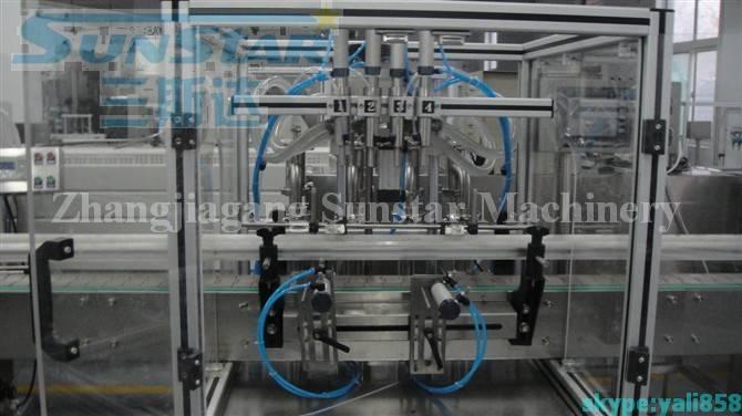 Paste Linear Piston Filling Machine