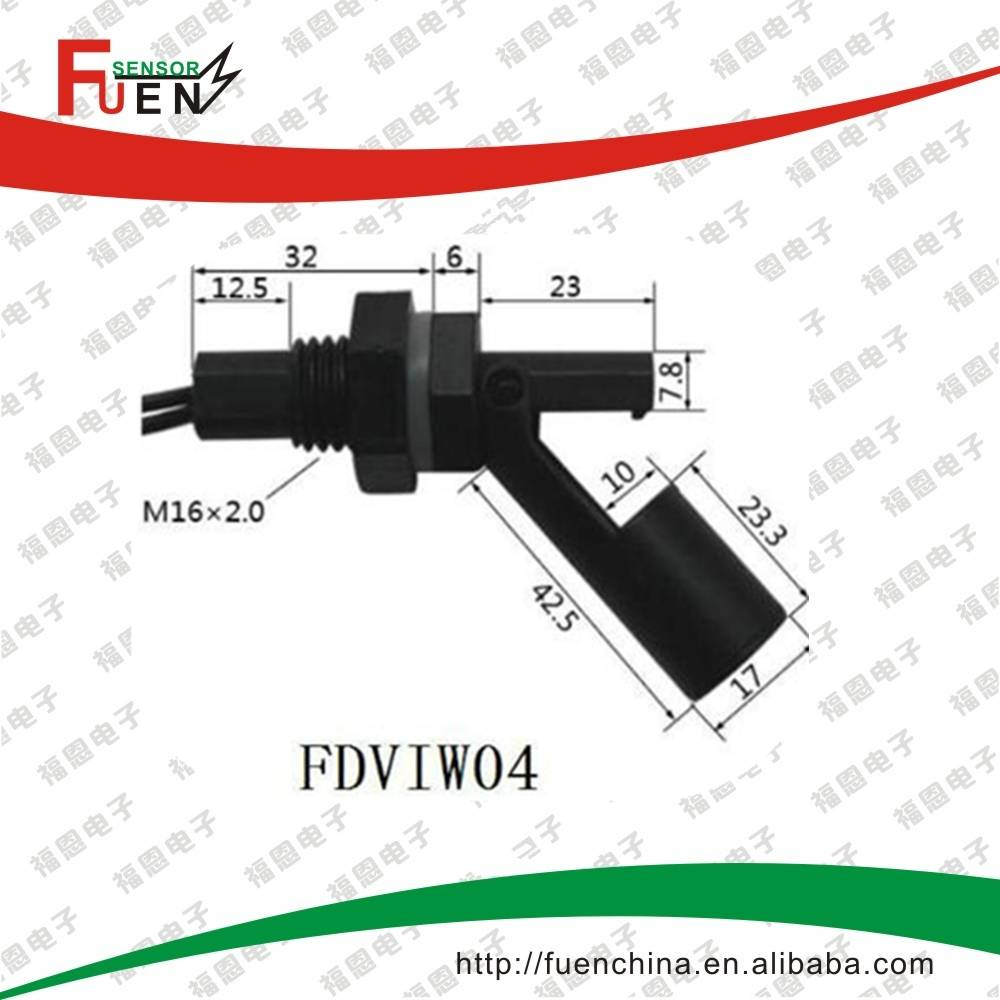 Side Mounted Water Level Controller Float Switch