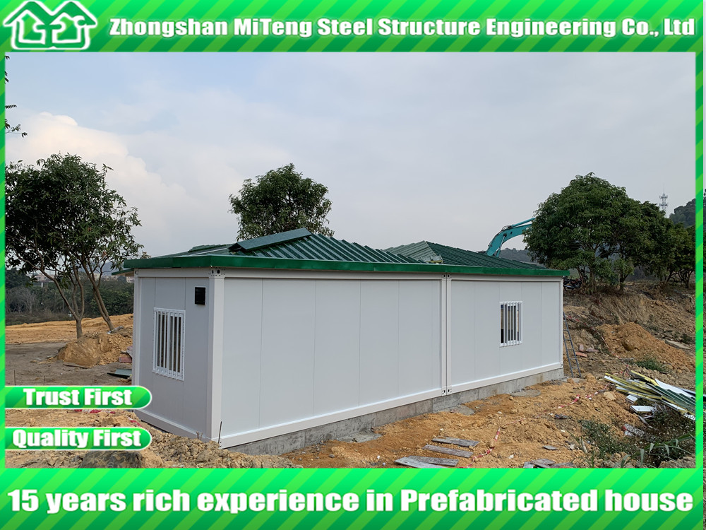 Fast building Container House with Steel Roof Truss Expandable Container Home
