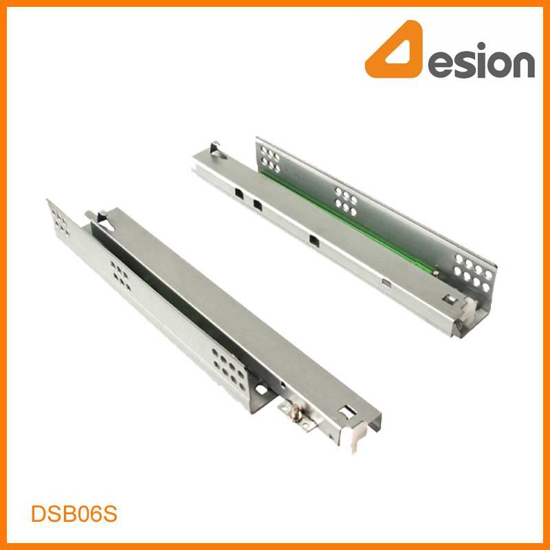 Peg Locking Full Extension Under Mounting Concealed Soft Closing Slides