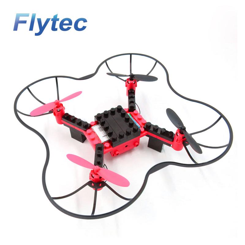 Flytec T11 DIY Building Blocks RC Quadcopter 2.4G 4CH Aircraft