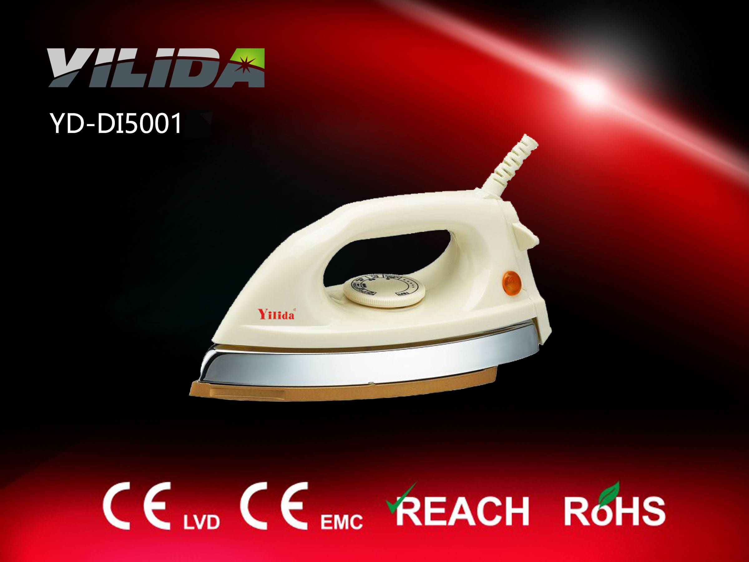 Cheap price Electric dry iron teflon coated plate