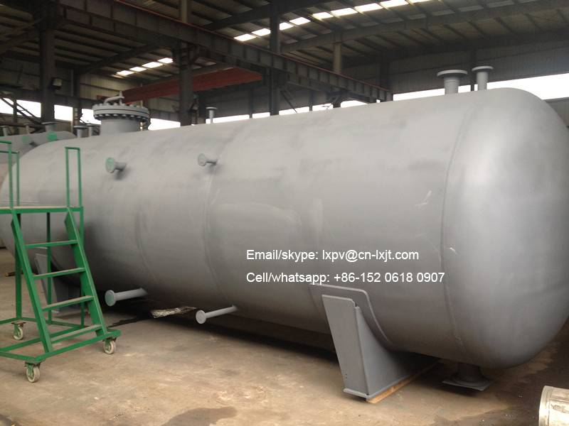 Horizontal Storage Tank/Vessel-Gas Storage-Water Storage-ASME ISO9001 certified factory