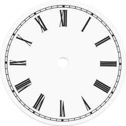 clock dial face