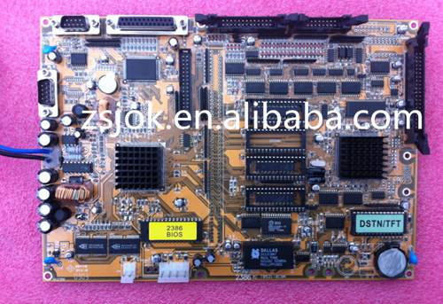 Techmation 3386m1-1 mother board / display card/Memory board