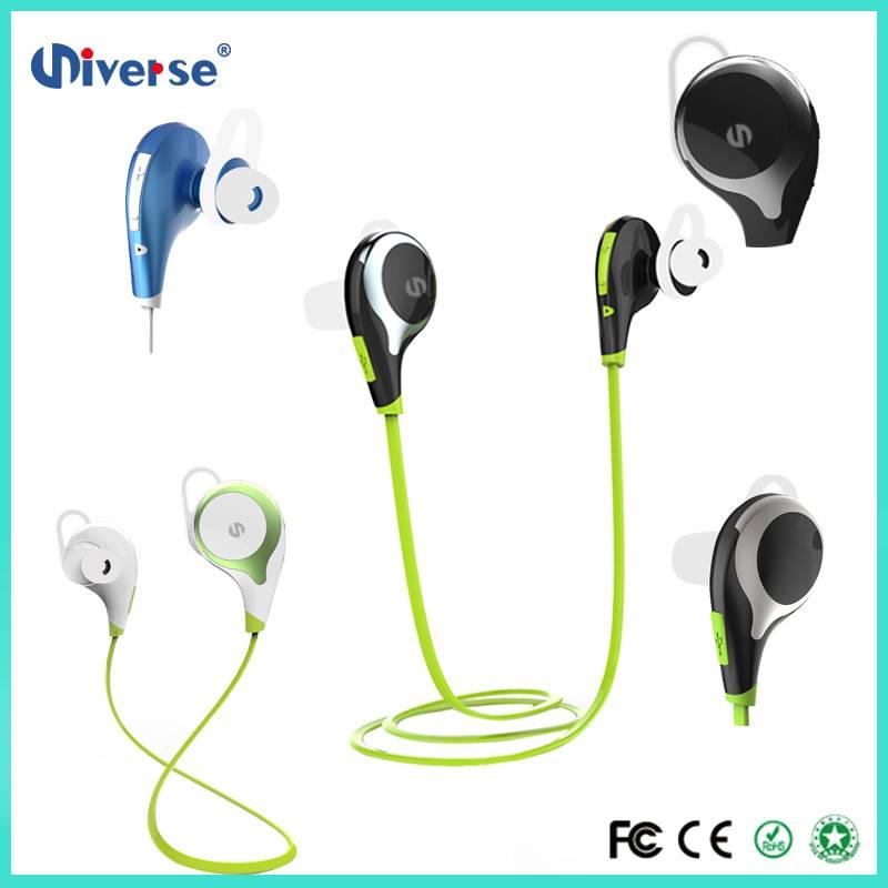 Newest Noise Cancelling Csr Wireless bluetooth Sweatproof Sport Earphones hot Sell New Bluetooth Hea
