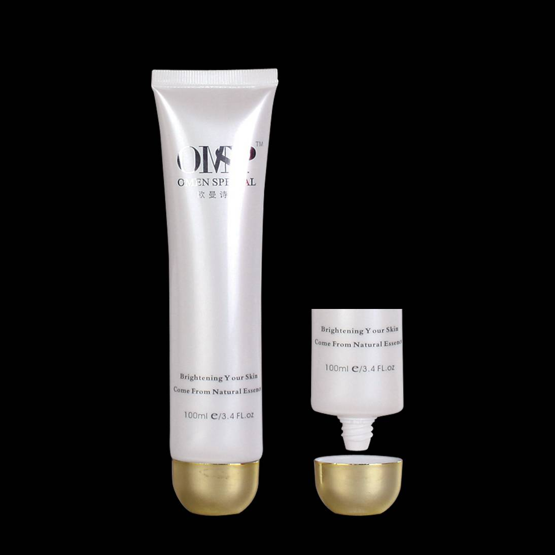 AT D30mm Plastic tube for cosmetics