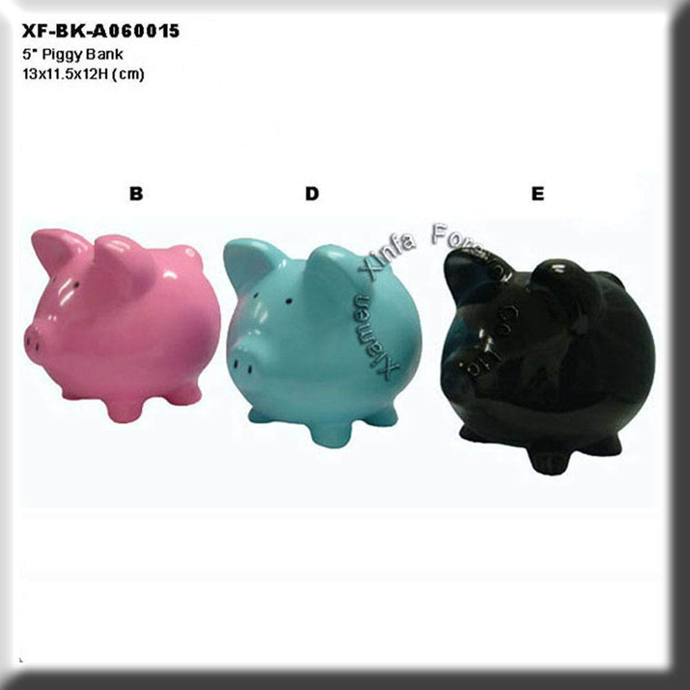 lovely ceramic animal piggy saving bank