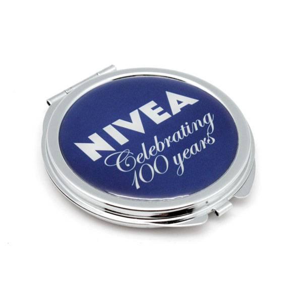Compact pocket mirror as Tourist souvenir