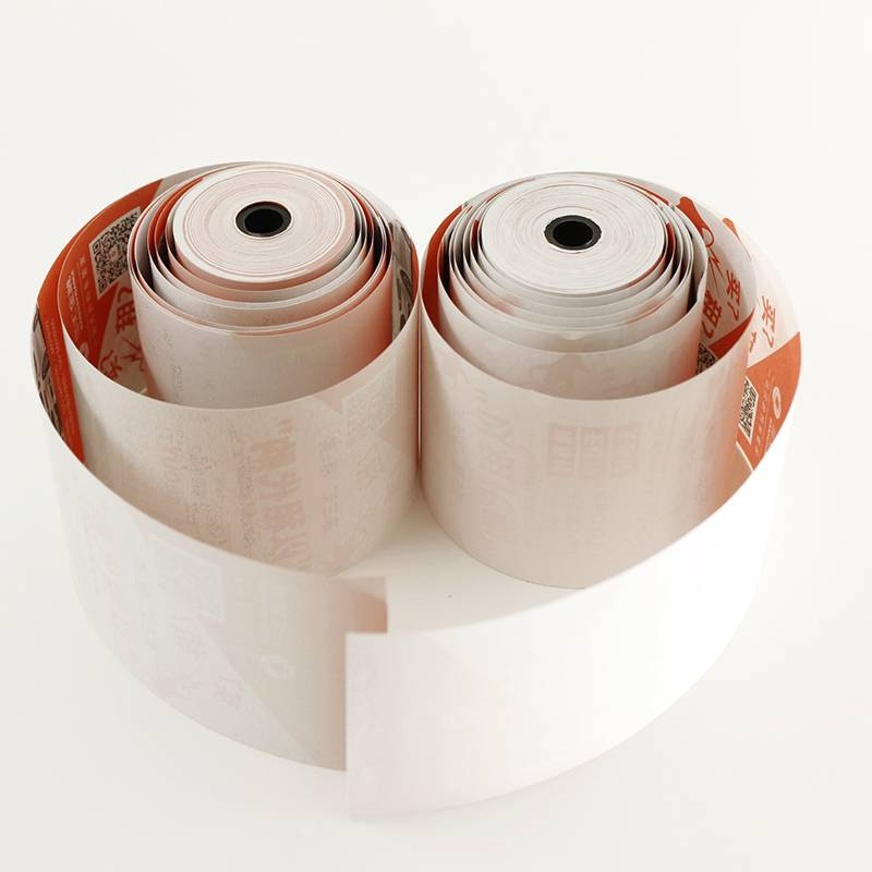 57x50mm printing thermal paper rolls used pos mchine