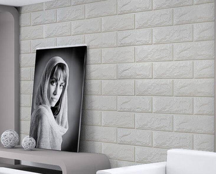 DIY store wall decoration foam bricks easy installation foam wall board with health XPE foam materia
