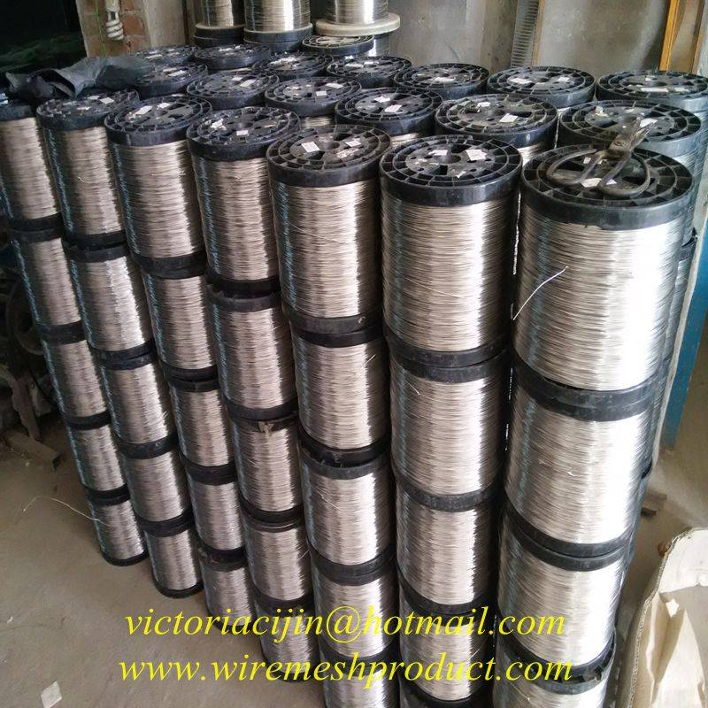 high quality 302/304/316 stainless steel wire