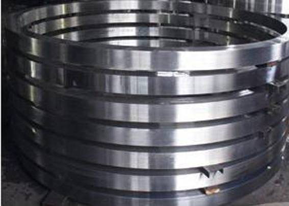 Ring forging used for wind turbine flange ,rotary support ring