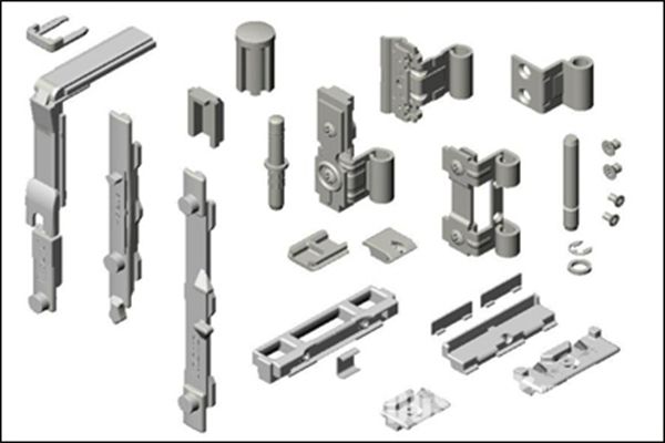 Door window hardware accessories processing