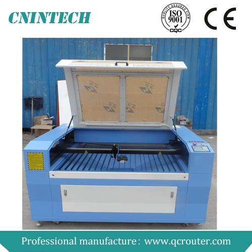 QC1290 Jinan CNINTECH 60W&80W&100W&130W cnc laser wood cutting machine/laser wood cutting machine pr