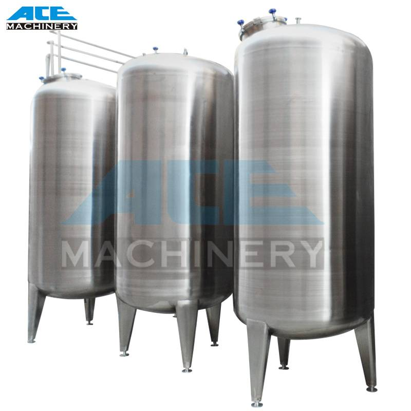 Stainless Steel Storage Tank (SIS304 or SUS316)