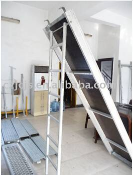 OEM aluminum ladder scaffolding system and aluminum ladder scaffold accessories