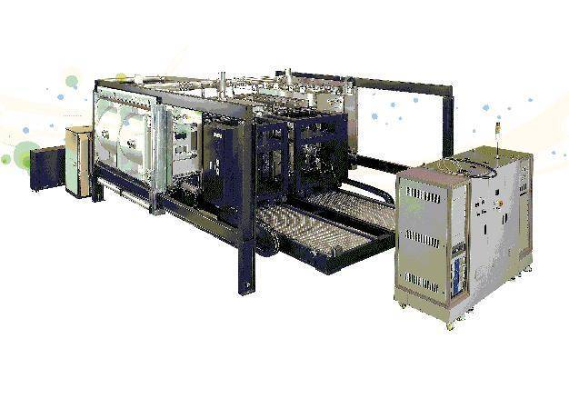 Roll to Roll hi vacuum sputtering coating system