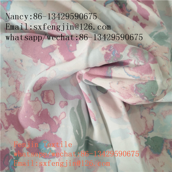 print rayon fabric for dress