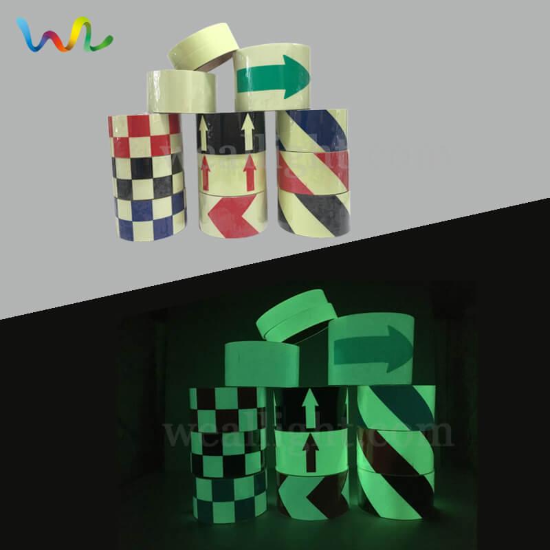 Luminous Tape, Glow In The Dark Tape, Photoluminescent Tape