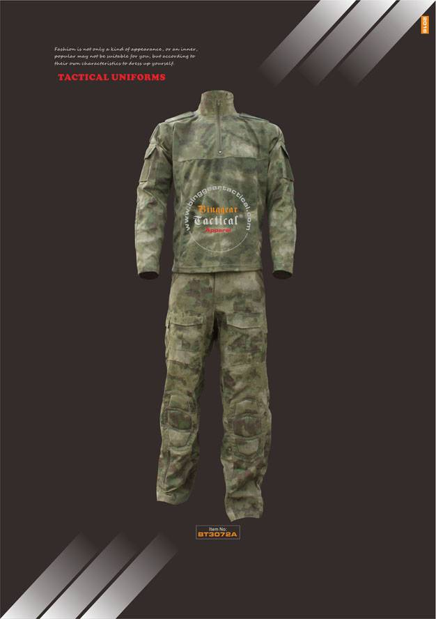 Camouflage Tactical Uniforms BT3072A