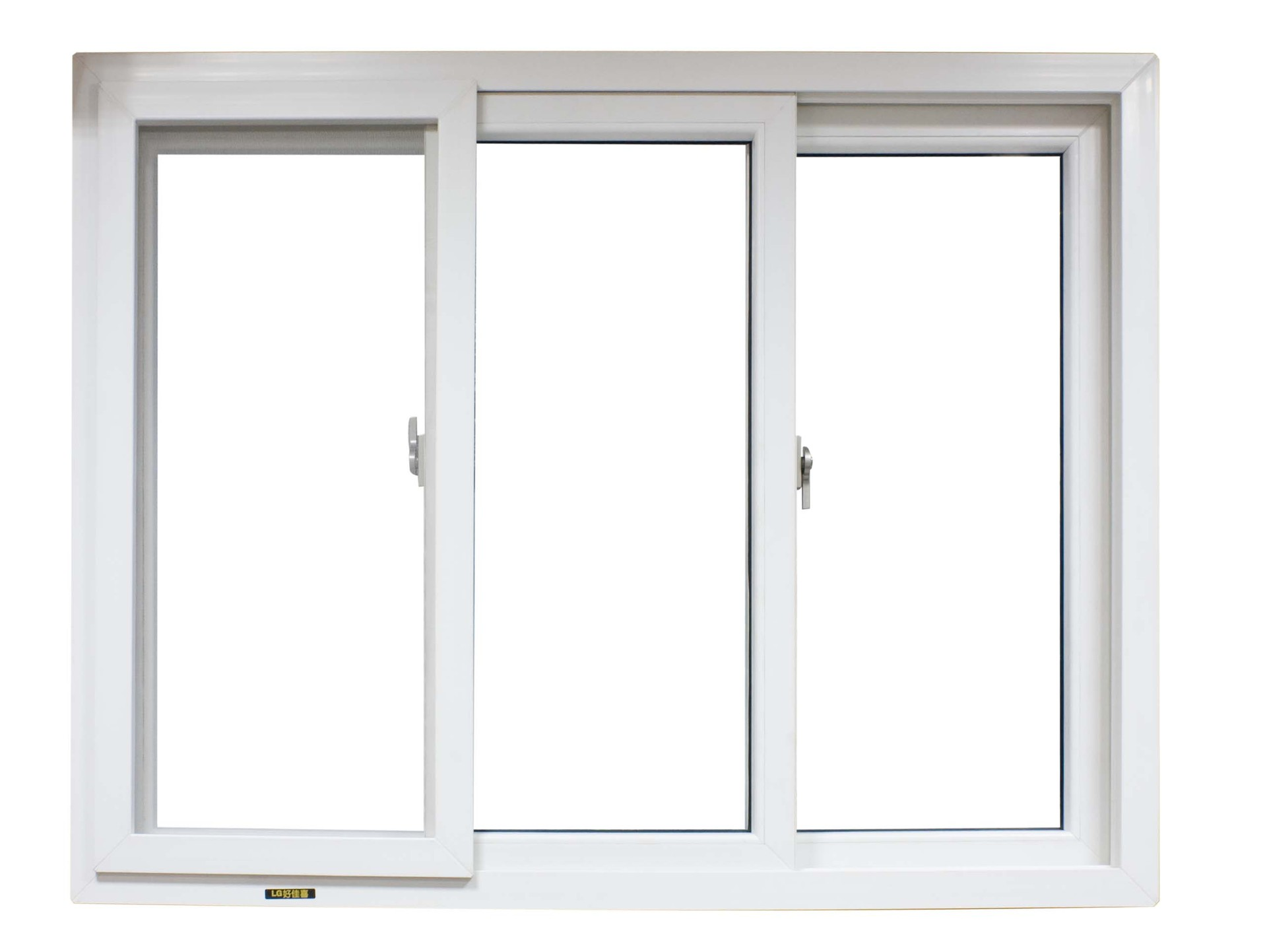 latest style high quality upvc sliding window for living room