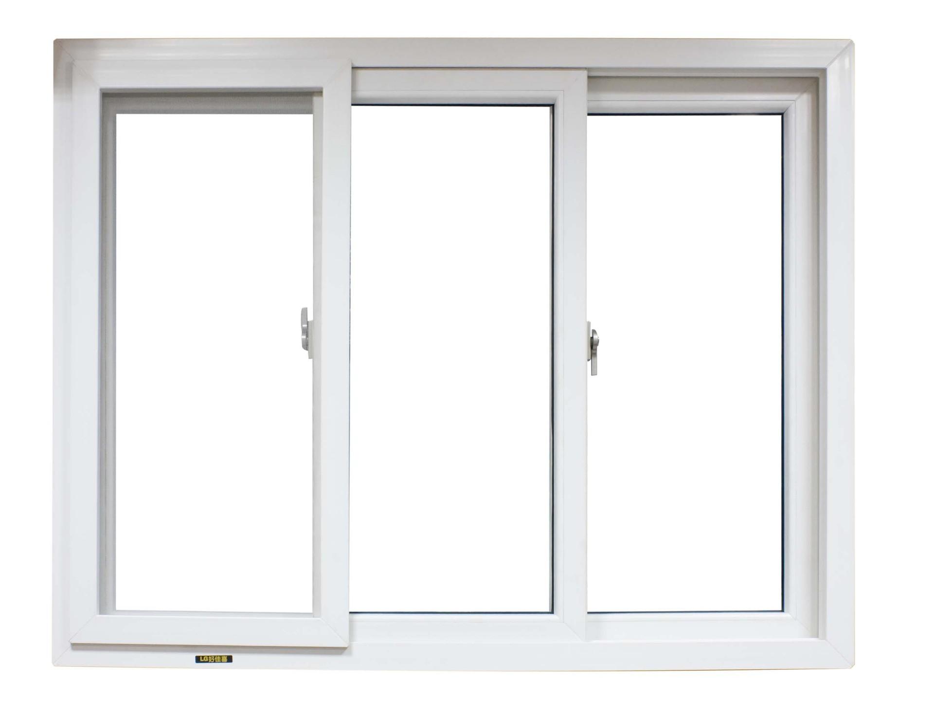 latest style high quality upvc sliding windows for living room
