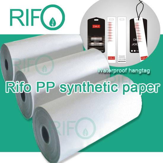 RPH-150 single coated PP synthetic paper