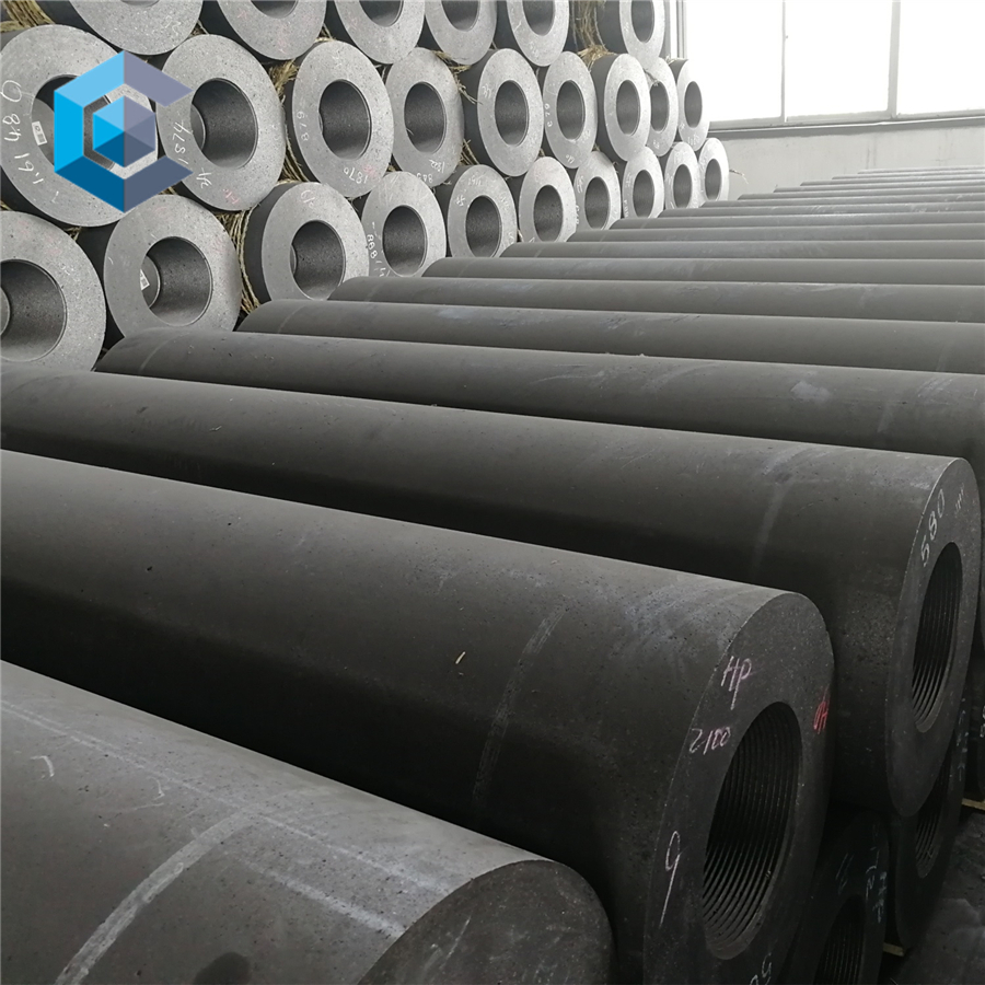 China Price HP 250mm 300mm graphite electrodes With Nipples