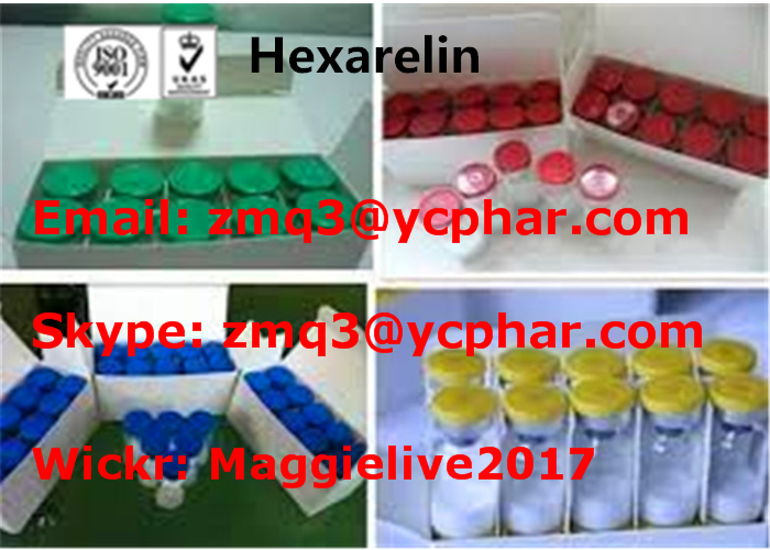 Hexarelin Powder Performance Enhancing Human Growth Hormone For Weight Loss CAS 140703-51-1