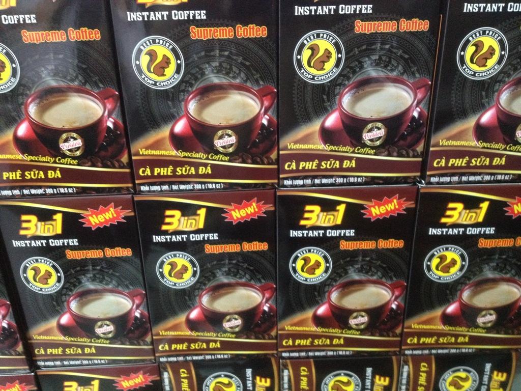 INSTANT COFFEE 3 in 1 - Box 300g - Viet Deli Coffee