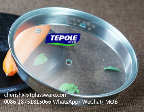 SUS 304 Steel Ring Pot Lid Pan Lids Factory With ISO 9001