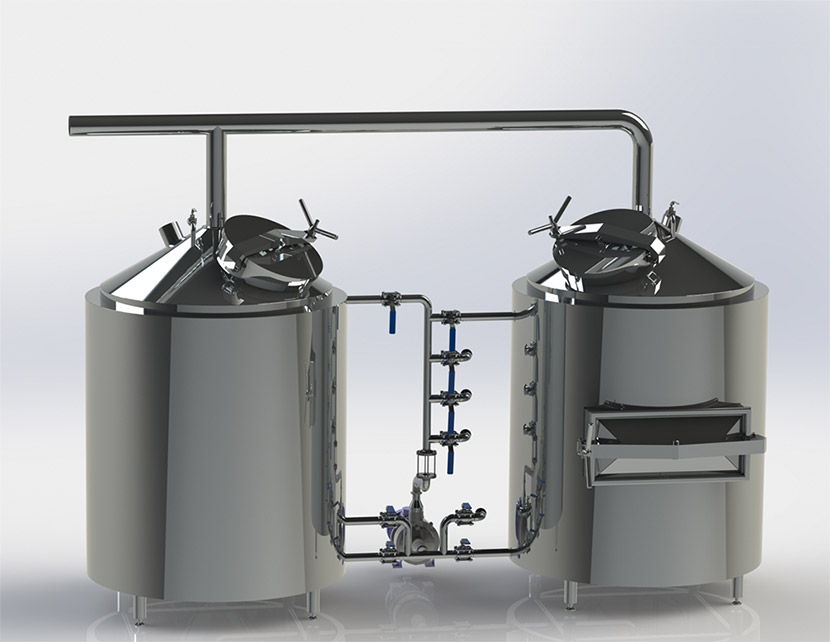 Micro brewery 300, 500, 1000, 2000, 3000l