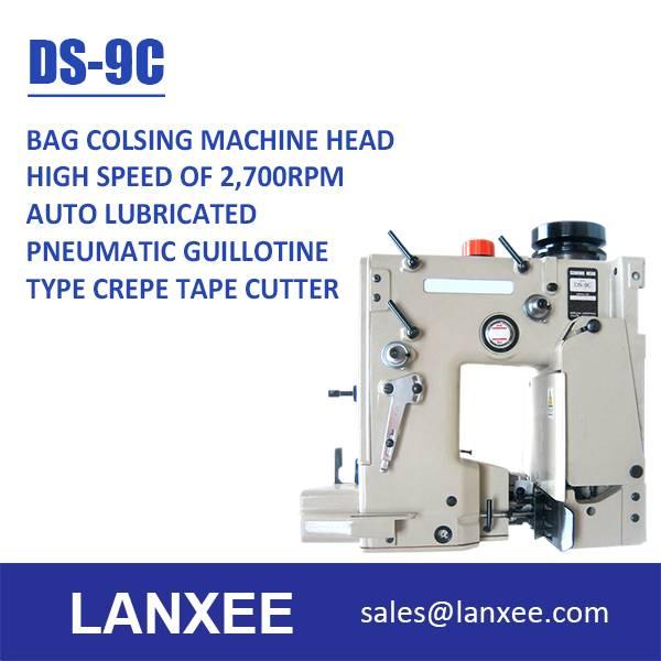 Lanxee DS-9 Series High Speed Bag Closing Machine Head